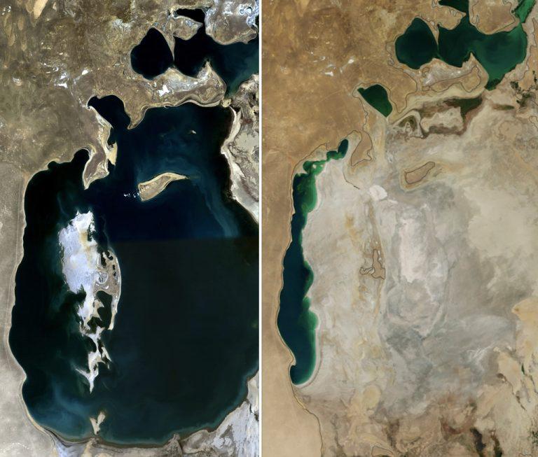 Аралско море, снимка Wikipedia