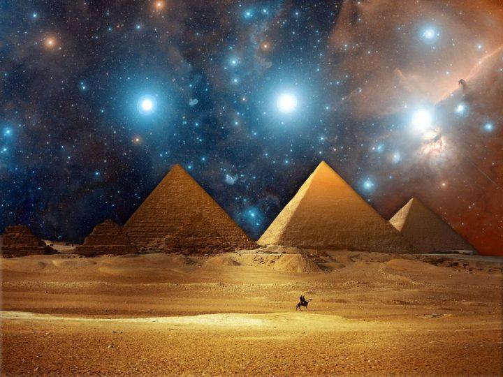 Пирамидите в Гиза маяк за извънземни посетители