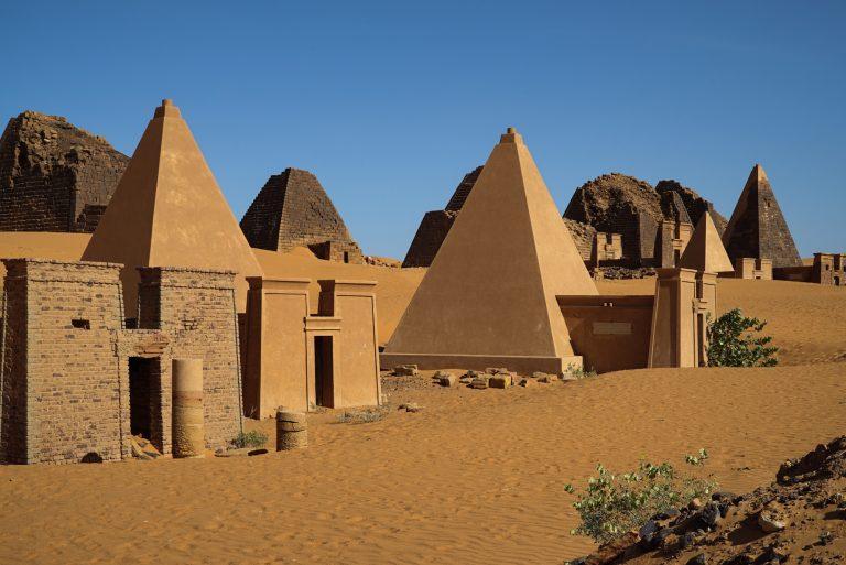 Пирамиите в Судан, сн. aljazeera