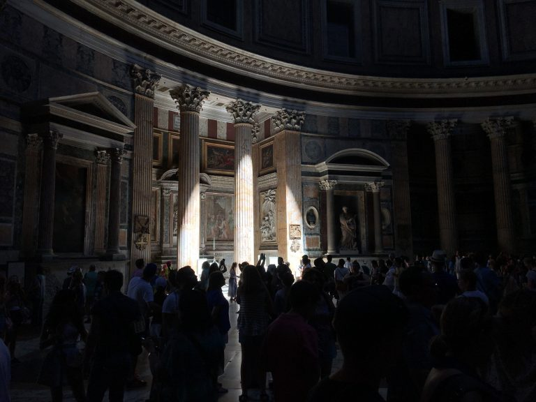 Създателят е бил видим за строителите на Пантеона в Рим/сн. НП