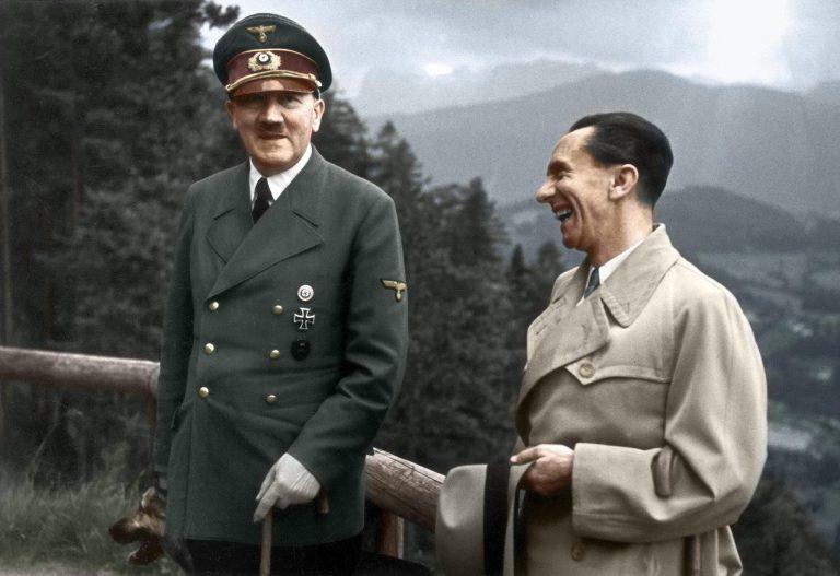 Шефът на нацистката пропаганда Гьобелс е верен на Фюрера буквално до смърт