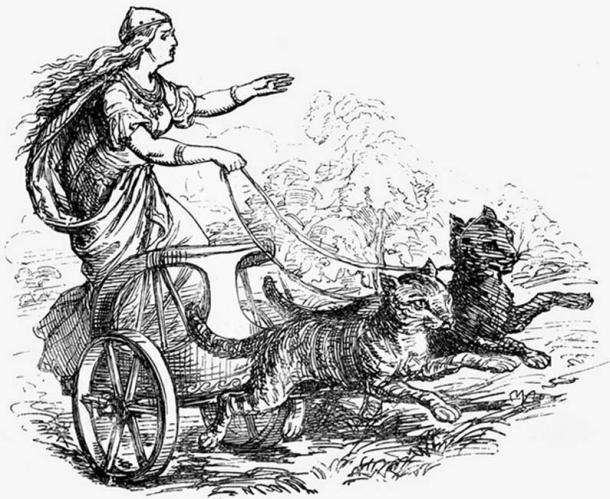 Фрея и колесницата