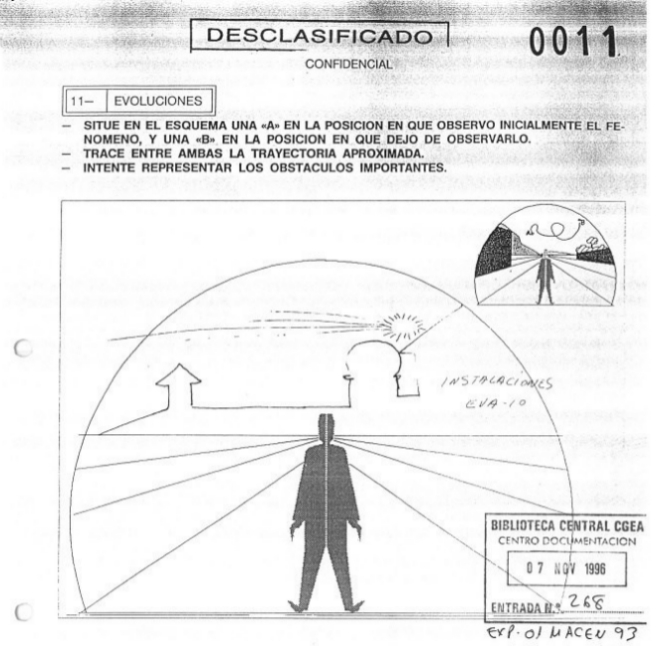 Част от разсекретените документи