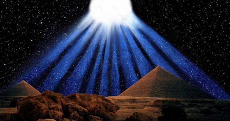 комета пирамиди
