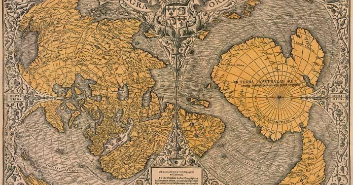 Картата на Оронтеус Финиус