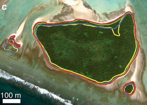 Островите нарастват заедно с нивото на океана